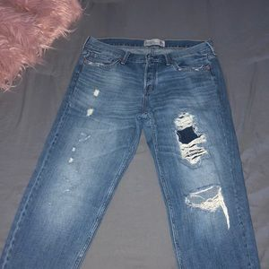 Boyfriend jeans from Abercrombie & Fitch